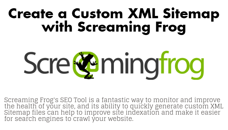 How to Create an XML Sitemap with Screaming Frog
